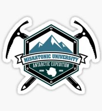 Miskatonic University Antarctic Expedition Sticker