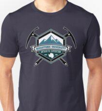 Expedición Antártica de la Universidad de Miskatonic Camiseta ajustada