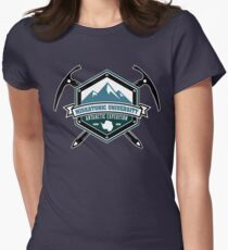 Miskatonic University Antarctic Expedition Women's Fitted T-Shirt