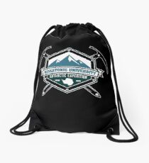 Miskatonic University Antarctic Expedition Drawstring Bag