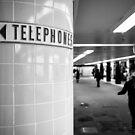 Land before mobiles - Melbourne Australia by Norman Repacholi