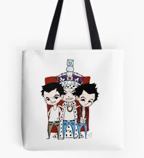 Faces of Moriarty Tote Bag