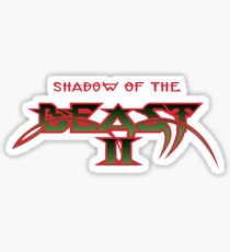 Shadow Of The Beast II Sticker