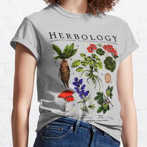 Herbology Plants Classic T-Shirt