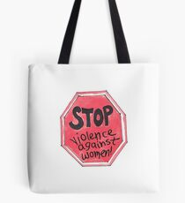 Violence Against Women Tote Bag