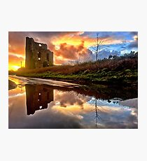 Engine House, Brea, Cornwall Photographic Print