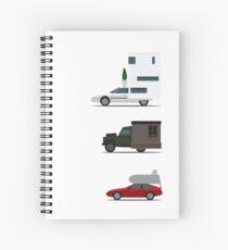 Motorhome challenge Spiral Notebook