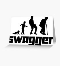 Swagger Greeting Card