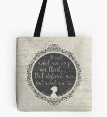 Sense and Sensibility Tote Bag