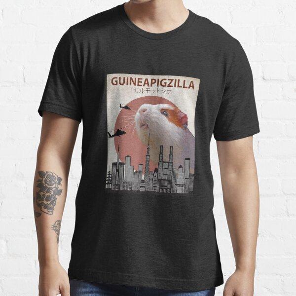 Guineapigzilla Funny Guinea Pig Essential T-Shirt