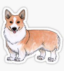 Pembroke Welsh Corgi dog Sticker