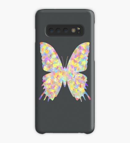 Pastel Motley Butterfly Case/Skin for Samsung Galaxy