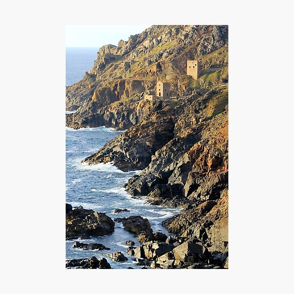 The Crowns Engine Houses, Botallack Photographic Print