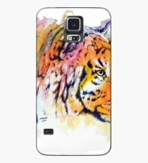 Tiger Watercolor Painting Case/Skin for Samsung Galaxy
