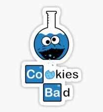 Cookies Bad! Sticker