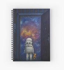 Universe at Your Door Spiral Notebook