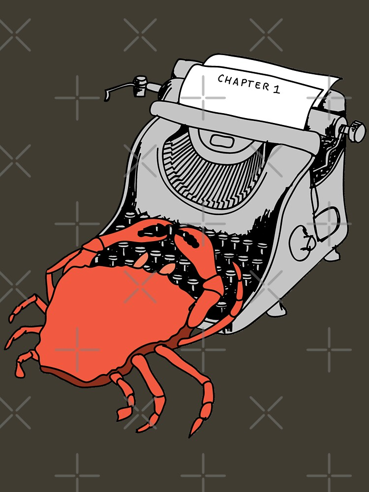 Crab Writer by dave-williams