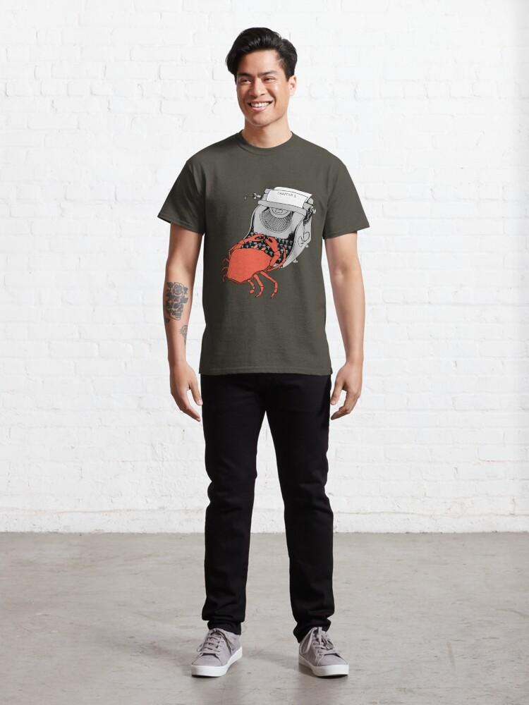 Alternate view of Crab Writer Classic T-Shirt