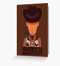 Woody the Kid Greeting Card