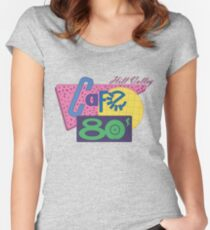 Cafe 80´s Women's Fitted Scoop T-Shirt