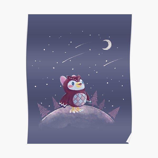 Celeste Animal Crossing // meteor shower, zodiac Poster