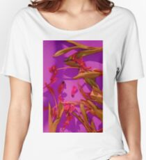 Magenta Tulips Women's Relaxed Fit T-Shirt