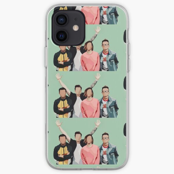 McFly Band Digitally Drawn Minimalist Print iPhone Soft Case