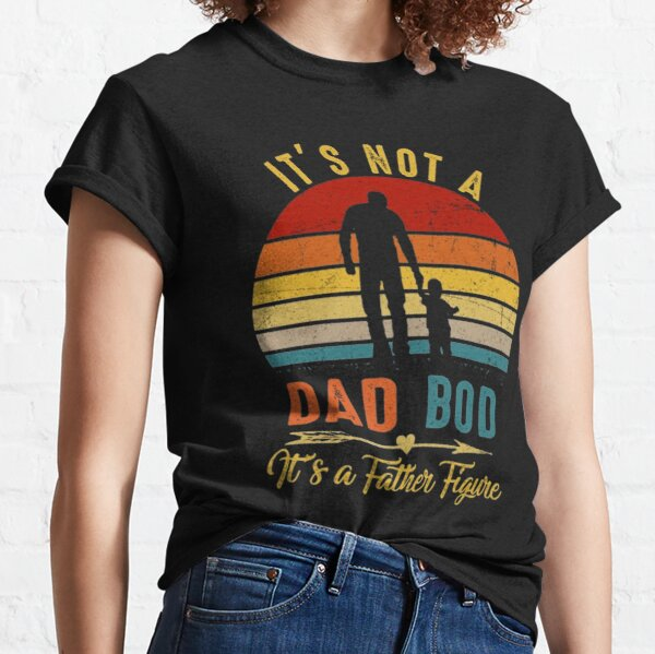 It's Not A Dad BOD It's Father Figure Bear Beer Lover Classic T-Shirt