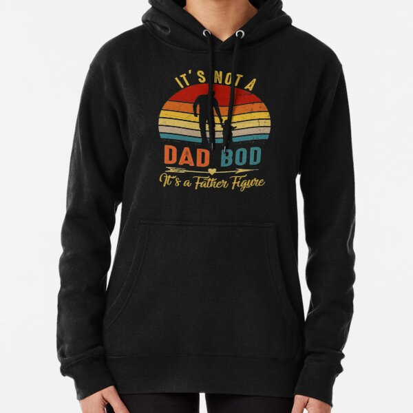 It's Not A Dad BOD It's Father Figure Bear Beer Lover Pullover Hoodie