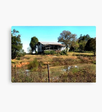 """""""Redneck Version of a Beachfront Condo""""... prints and products Canvas Print"""