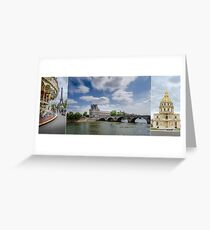 Images of Paris Greeting Card