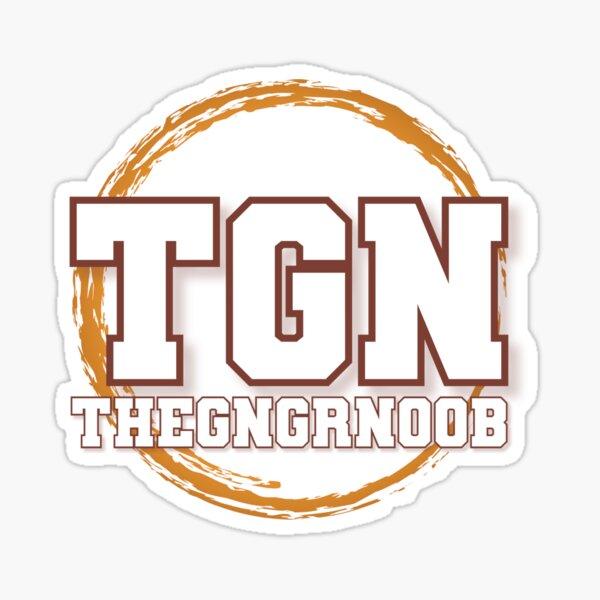 TheGngrNoob Logo Sticker
