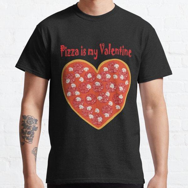 Valentine's pizza Classic T-Shirt