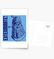 EXTERMINATE! (With Caption) Postcards