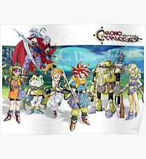 Chrono heroes Poster