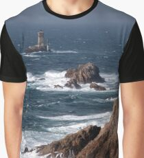 Pointe du Raz, Plogoff, Finistère, France Graphic T-Shirt