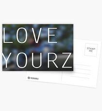 LOVE YOURZ Postcards