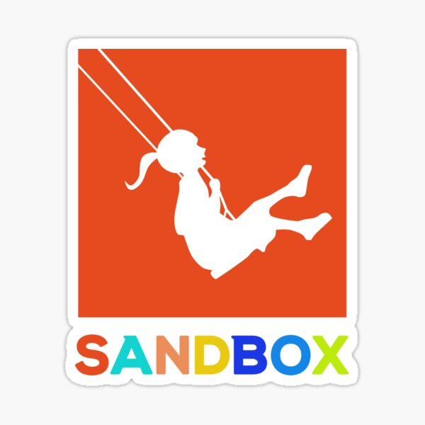 Sandbox Sticker