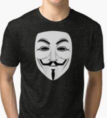 Guy Fawkes Tri-blend T-Shirt