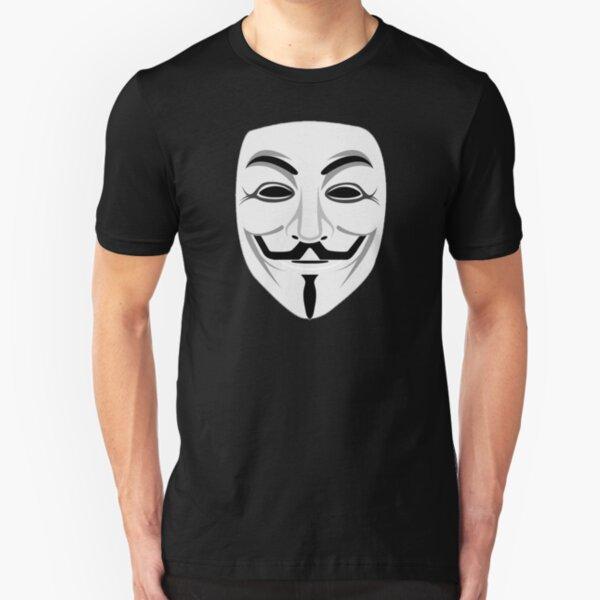 Guy Fawkes Slim Fit T-Shirt