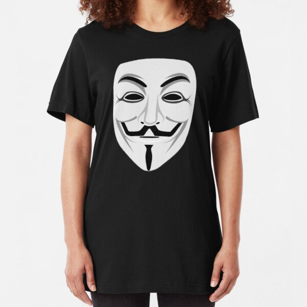 Guy Fawkes Slim Fit T-Shirt