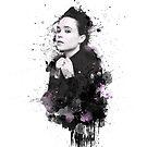 Ellen Page - splatters 2 by Pomerani