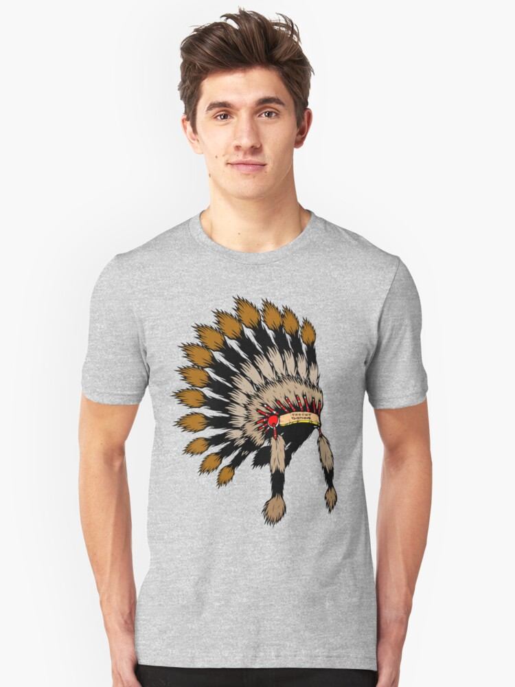 Iroquois war bannet by Chrome Clothing