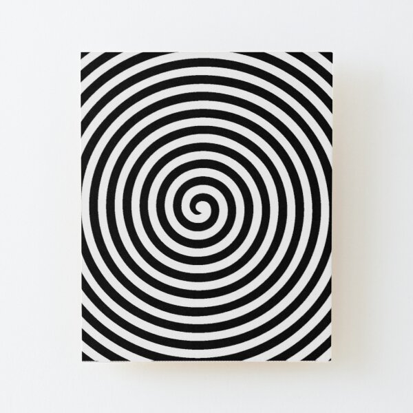 Spiral Wood Mounted Print