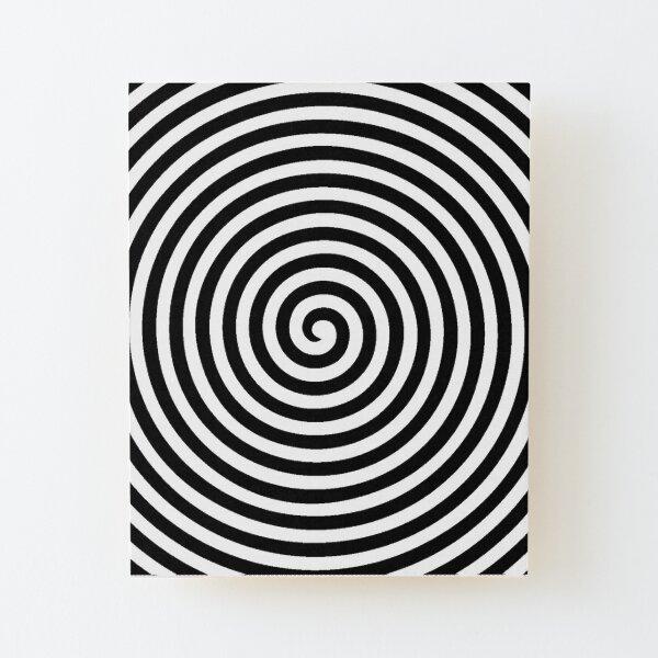 Spiral Wood Mounted Print