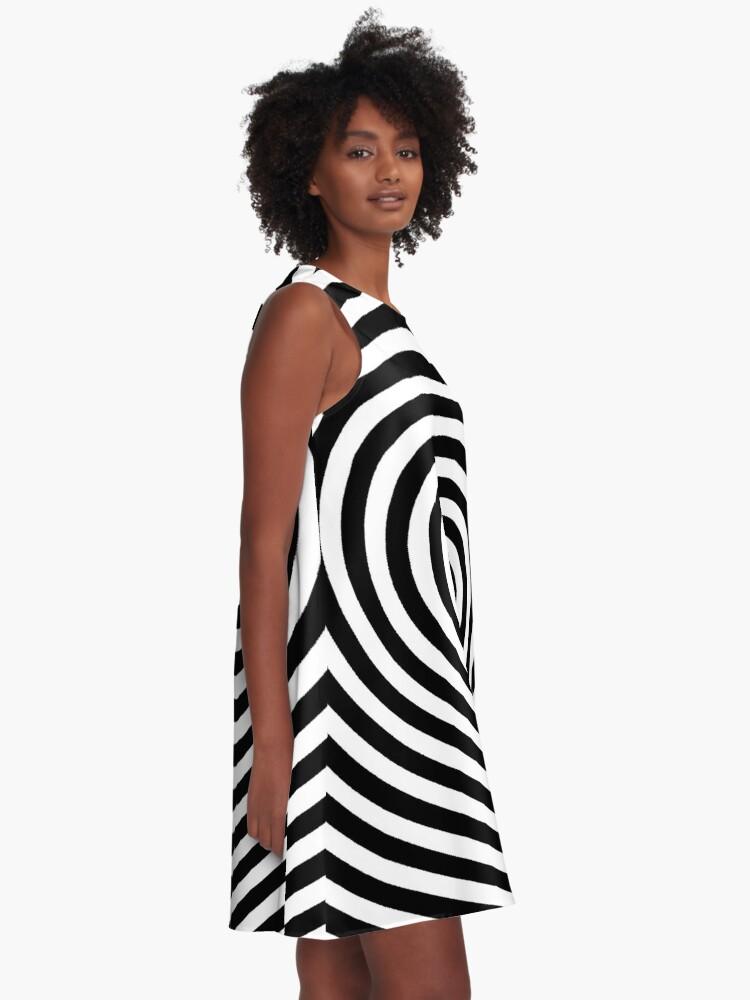 Alternate view of Spiral A-Line Dress