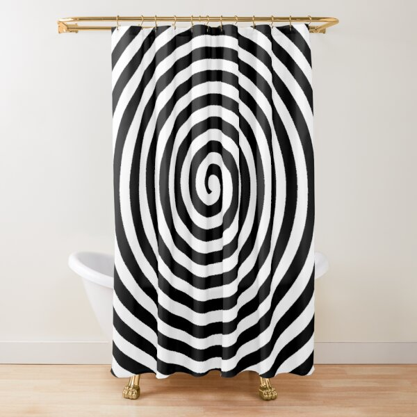 Spiral Shower Curtain