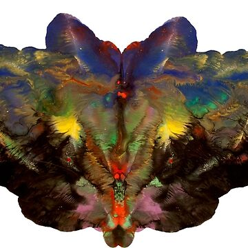 Psychedelic bat... terfly by jaosauf