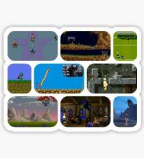 Commodore Amiga Games Sticker