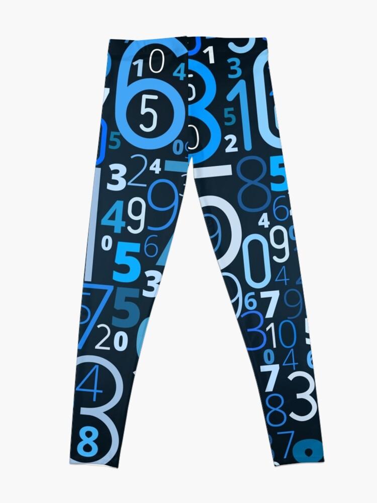 Alternate view of Math, Numbers Leggings